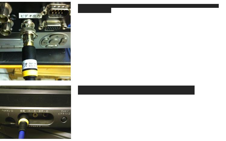 テレビとDVRの接続
