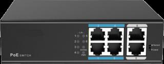 PoEスイッチングハブ 4ch PSD-SH0204-EL