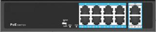 PoEスイッチングハブ 8ch PSD-SH0208-GL